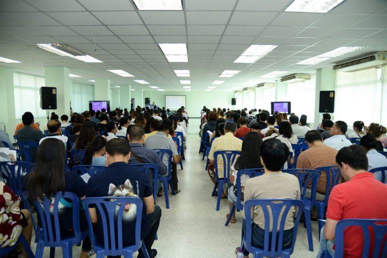 ประชุมผู้ปกครองนักศึกษาใหม่