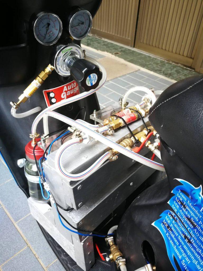 มอเตอร์ไซค์เชื้อเพลิงไฮโดรเจน