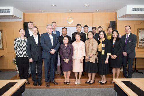 ลงนามบันทึกข้อตกลงความร่วมมือทางวิชาการร่วมกับ TTK University of Applied Sciences ประเทศเอสโตเนีย