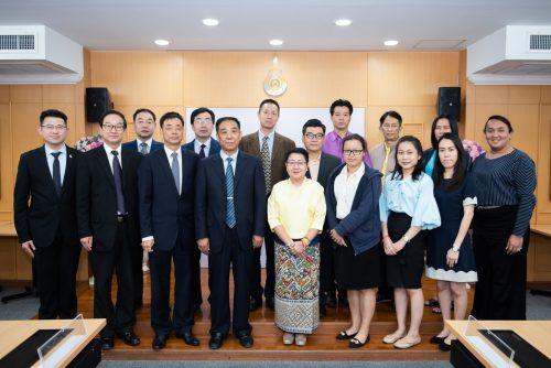 ลงนามกับ Shandong Jianzhu University และสมาคมการค้าและการลงทุนเอเชียน-สากล(AITIA)