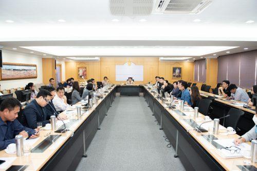 ราชมงคลพระนคร หารือการรับนักศึกษาจีน กับสมาคมการค้าและการลงทุนเอเชียน-สากล (AITIA)